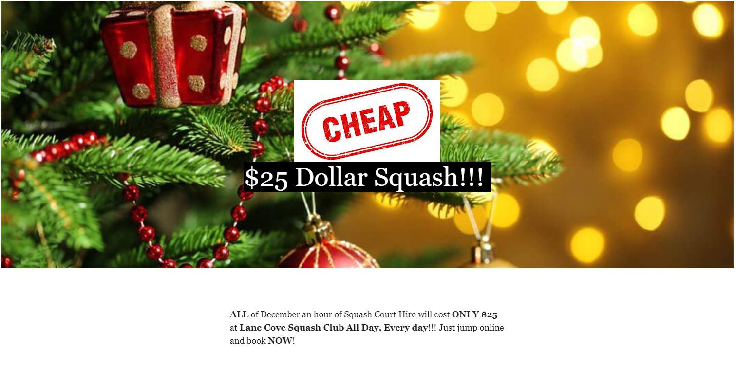 Lane Cove December Deal